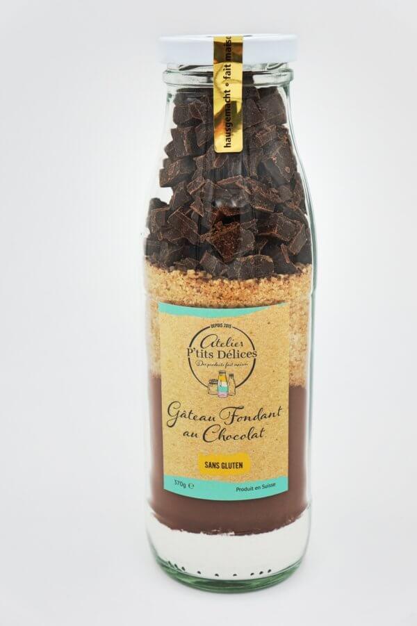 Mélange pour gâteau fondant au chocolat