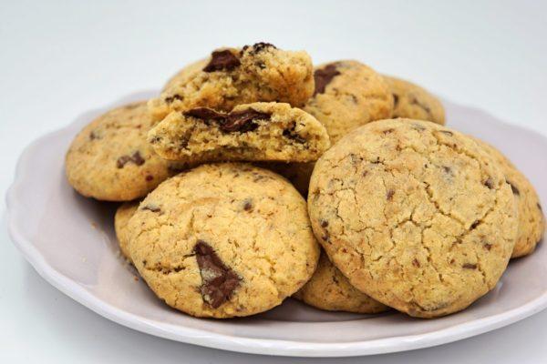 Cookies au chocolat sans gluten Atelier P'tits Délices