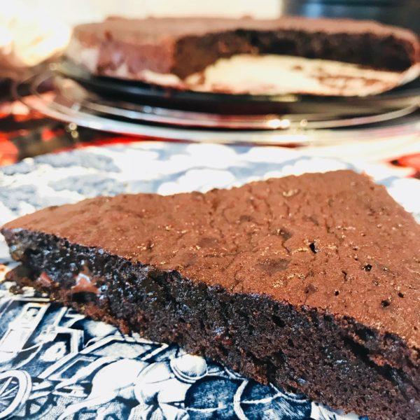 Gâteau Fondant au chocolat sans gluten Atelier P'tits Délices