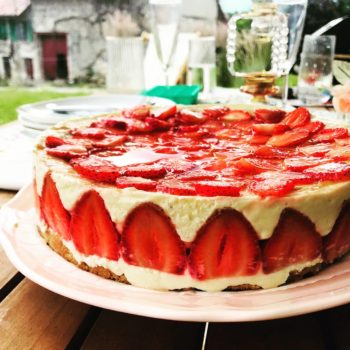 fraisier sans gluten