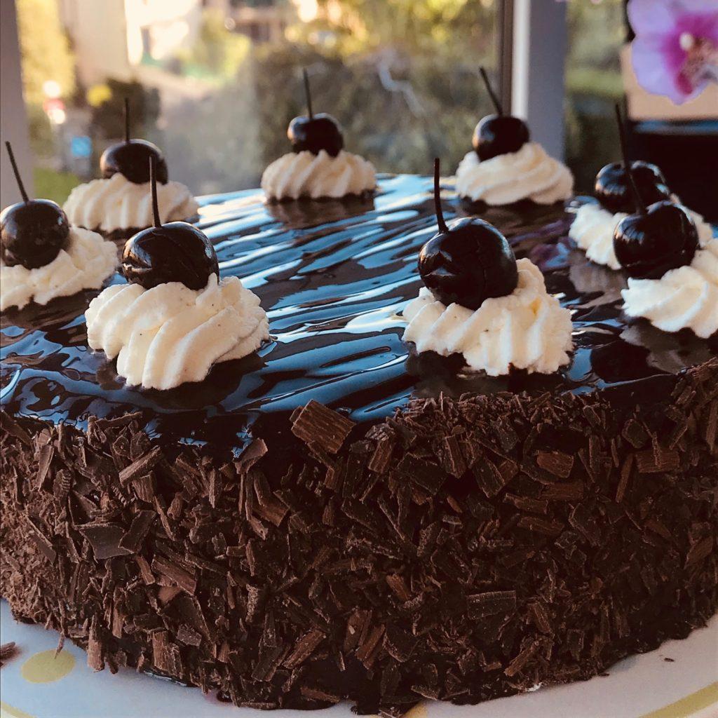gâteau forêt noire